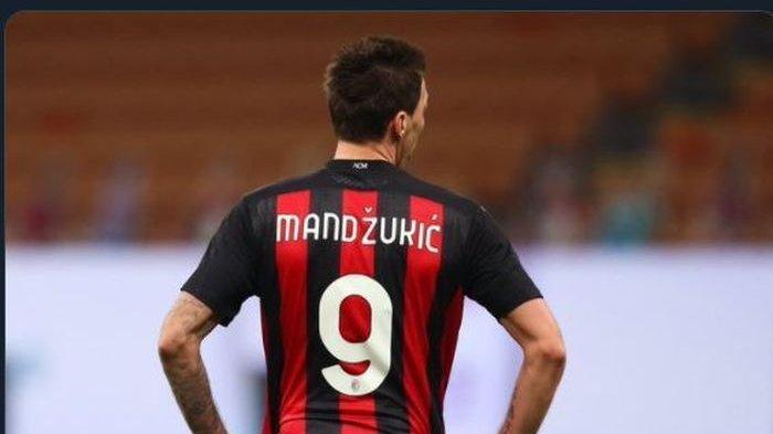 Kutukan Nomor 9 AC Milan Belum Sirna, Mandzukic Jadi Korban Berikutnya, Masih Mandul Belum Cetak Gol
