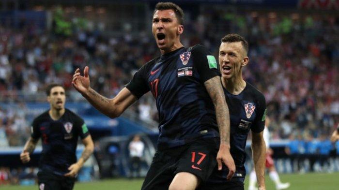 Inggris Menangis Kroasia Berjaya, Mario Mandzukic dkk Lolos ke Final Piala Dunia 2018