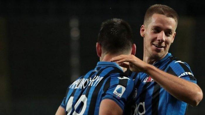 Hasil Atalanta vs Napoli, Dwigol Pessina Antar Sang Dewi Bertemu Juventus di Final Copa Italia