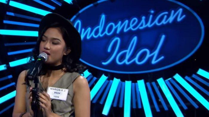 Inilah 5 Kontestan Tersingkir & Top 15 Indonesian Idol 2018, Marion Jola Dapat Standing Applause