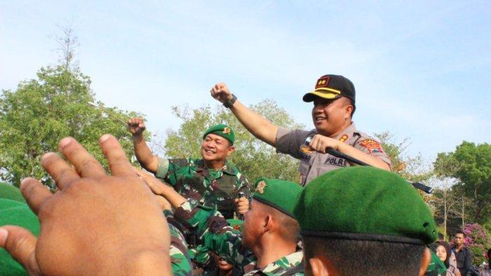Markas TNI Yonif 410/Alugoro Digeruduk Anggota Polres Blora, Ada Apa?