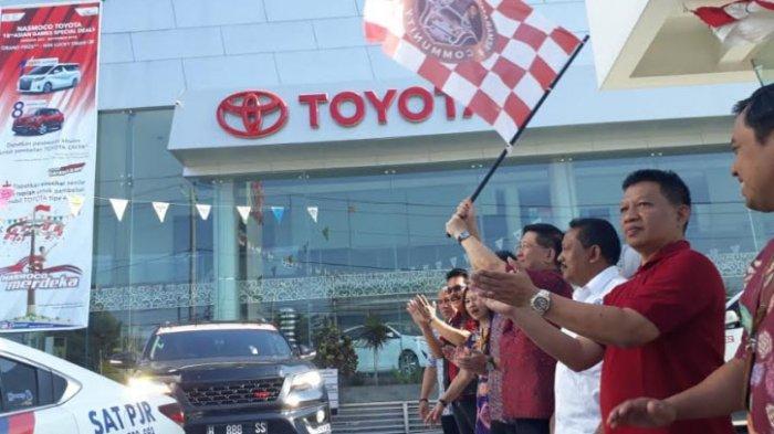 Semarang Fortuner Community Gelar Touring dan Bakti Sosial di Pangandaran Jabar
