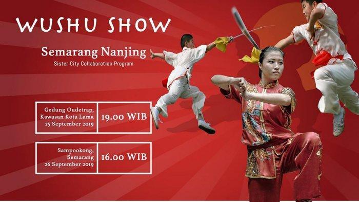 Delegasi Martial Arts Tiongkok Hadir di Kota Semarang