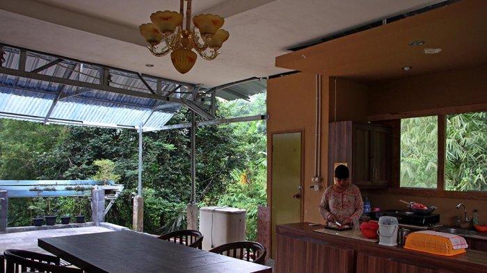 Widyanto Buat Dapur Berkonsep Terbuka dengan Pemandangan Alam