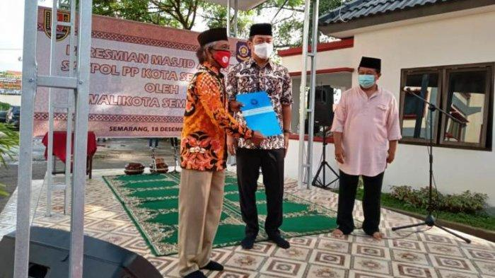 Resmikan Masjid An-Nur Kantor Satpol PP Kota Semarang, Hendi: Silakan Digunakan Aktivitas Warga