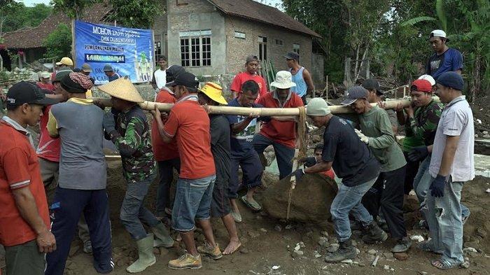 Masjid Bahrul Hidayah Desa Cabeankunti Cepogo Boyolali Siap Dibangun
