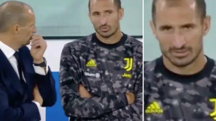 Terungkap Keluhan Chiellini Kepada Allegri di Bangku Cadangan saat <a href='https://manado.tribunnews.com/tag/juventus' title='Juventus'>Juventus</a> Kalah dari <a href='https://manado.tribunnews.com/tag/empoli' title='Empoli'>Empoli</a>