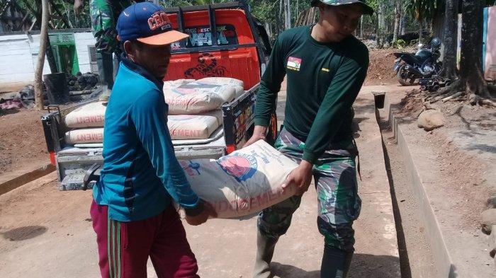 Material Siap, Bedah Rumah Warga Durenombo Mulai Dikerjakan