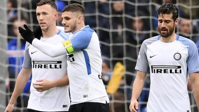 Skor Akhir Sampdoria Vs Inter Milan- Pesta Gol, I Nerazzuri Amankan Zona Liga Champions