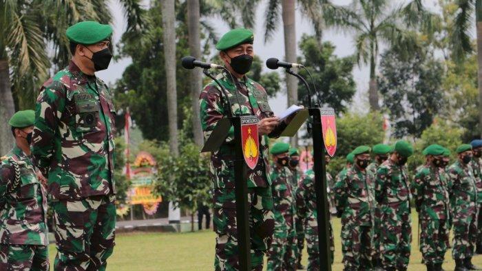 Mayjen TNI Bakti Agus Fadjari, S.IP.M.Si saat Sertijab Pangdam IV/Diponegoro kepada Mayjen TNI Rudianto. (Tribun Jateng/Hermawan Handaka)