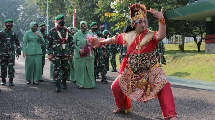 Mayjen TNI Rudianto diKomando Daerah Militer IV/Diponegoro Jalan Perintis Kemerdekaan, Watugong, Banyumanik, Semarang, Jawa Tengah, Sabtu (6/3/21).