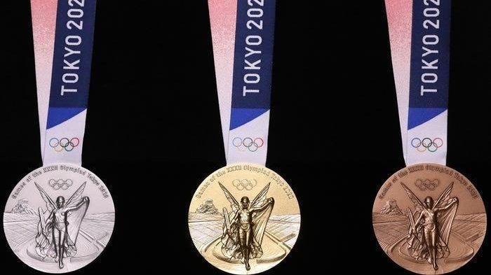 Medali Olimpiade Tokyo (Courtesy of Tokyo 2020)