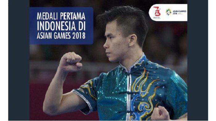 Inilah Sosok Penyumbang Medali Pertama Asian Games 2018, Tagar #TerimakasihEdgar Trending