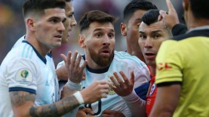 Lionel Messi Resmi Dijatuhi SanksiGara-gara Komentar soal Korupsi diCopa America 2019