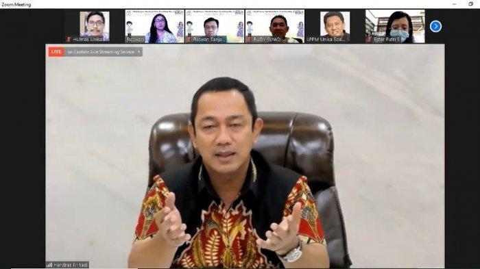 Wali Kota Semarang Lepas KKN Pandemika 3 Unika, Ini Pesannya