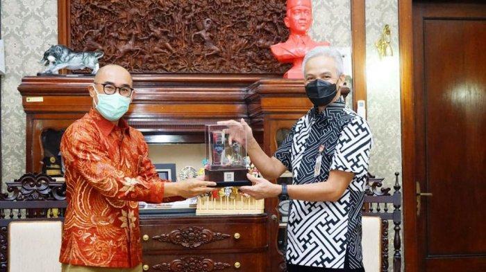 Memgemban Tugas Baru, General Manager PLN Pamitan ke Gubernur Jawa Tengah