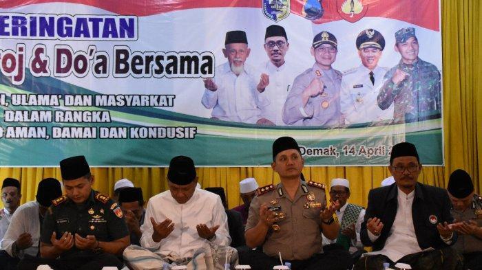Kapolres Demak Imbau Masyarakat Tetap Jalin Silaturahmi Meski Berbeda Pilihan