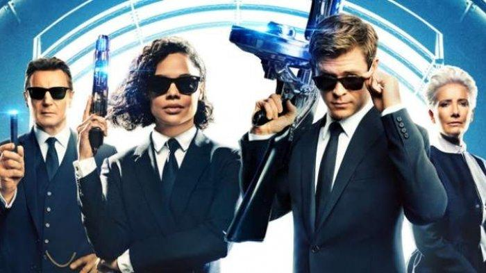 Sinopsis Men In Black International Bioskop Trans TV Jam 21.30 Chris Hemsworth Lawan Serangan Alien