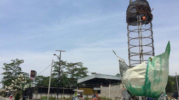 Menara Jagung Boyolali Diganti dengan Bahan Tembaga
