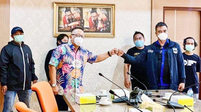 Suporter PSIS Semarang Ingin Bertemu Ganjar Pranowo Soal Stadion Jatidiri Tak Kunjung Selesai