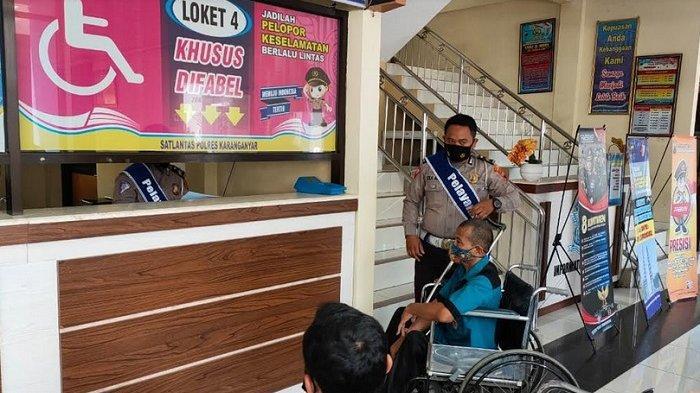 Satlantas Polres Karanganyar Berikan Dispensasi Perpanjangan SIM Selama PPKM