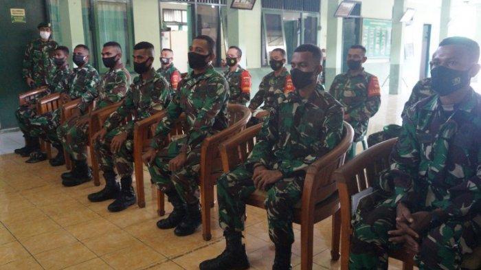 Tujuh Bintara Asal Papua, Belajar di Kodim Pekalongan