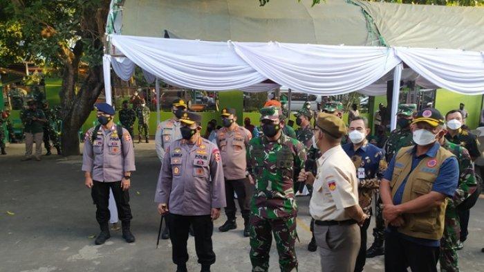 Kunjungi Pati, Panglima TNI dan Kapolri Minta Fungsi Posko PPKM Diperkuat