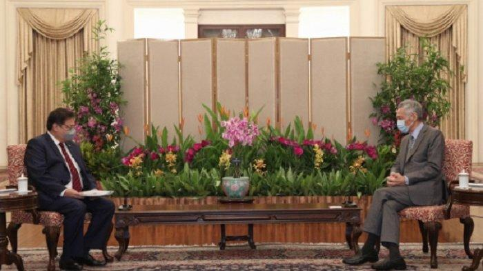 Menko Airlangga: PM Singapura Dorong Pengusaha Singapura Investasi di Indonesia