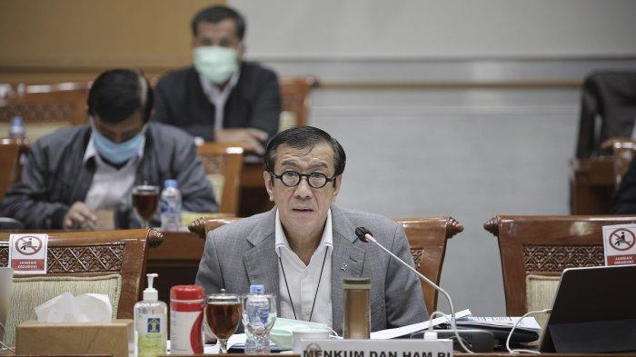 Pasal Penghinaan Kepala Negara di RUU KUHP, Menkumham: Menghina Presiden Itu Anarki