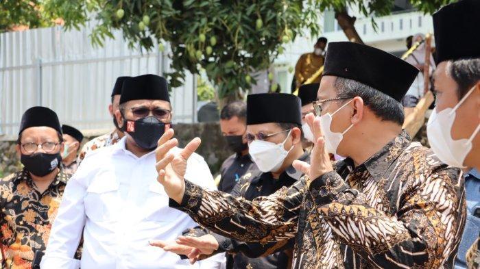 Menteri Agama Kunjungi Proyek Pengerjaan Mahad II UIN Walisongo Semarang