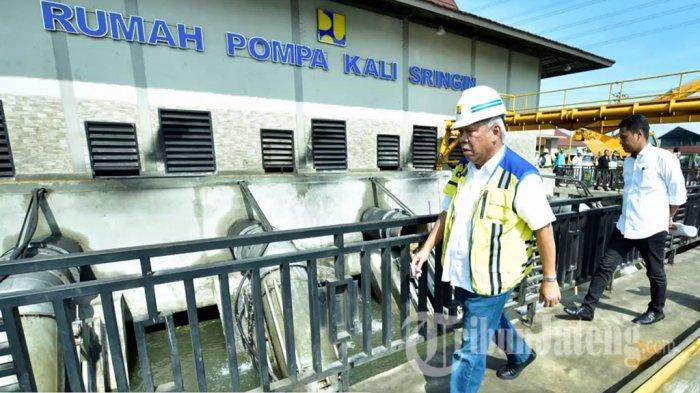 Menteri PUPR Basuki Datang ke Semarang Khusus Tangani Banjir