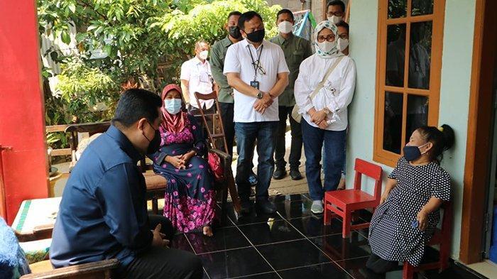 Erick Thohir Kunjungi Nasabah Difabel PNM Mekaar di Boja Jawa Tengah