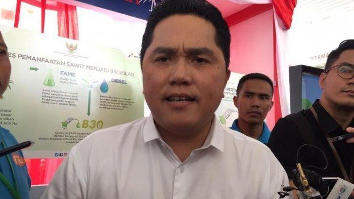 Menteri Erick Thohir Angkat Polisi Penangkap Tommy Soeharto Jadi Komisaris PT Bukit Asam