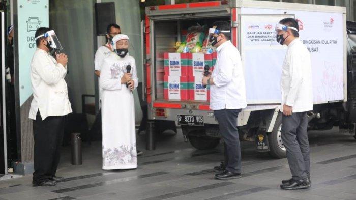 Erick Thohir Apresiasi Donasi Gaji dan THR Karyawan Telkom untuk Warga Terdampak Corona