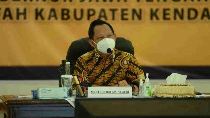 Mendagri Tito Karnavian Puji Penanganan Covid-19 dan PPKM oleh Pemkab Kendal