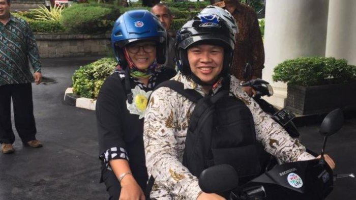 AJIB! Menteri Asal Semarang Ini Harus Pakai Sepeda Motor ke Istana