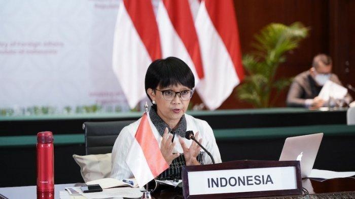 Diprotes Demonstran, Retno: Indonesia Bersama Rakyat Myanmar