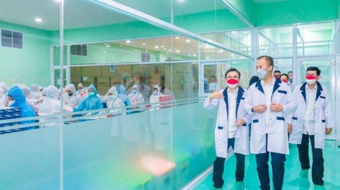 Indonesia Berhasil Ekspor Alat Rapid Test Antigen ke Thailand dan Irlandia