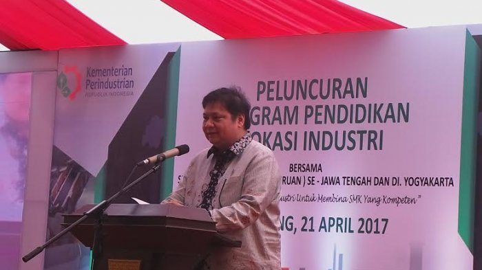 Di Kabupaten Semarang, Menteri Perindustrian Gandeng Perusahaan untuk Luncurkan Pendidikan