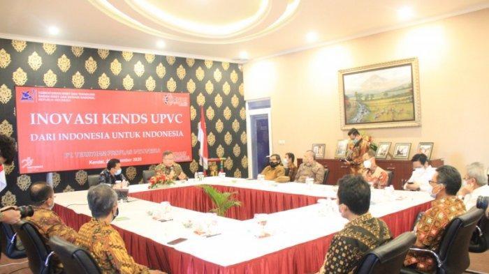 Menristek Prof Bambang Brodjonegoro Tinjau PT Terryham Proplas di Kendal