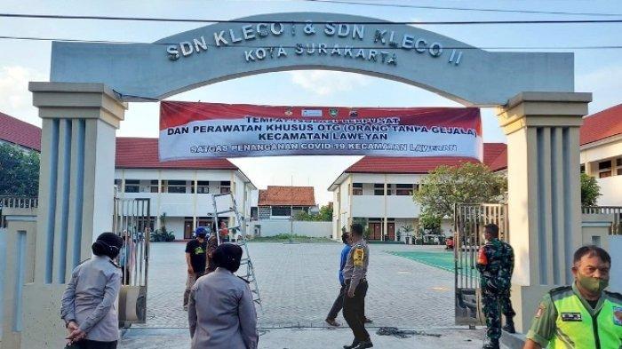 SDN Kleco 1 dan 2 Jadi Tempat Isolasi Terpusat di Kecamatan Laweyan Solo, Akan Dijaga 24 Jam