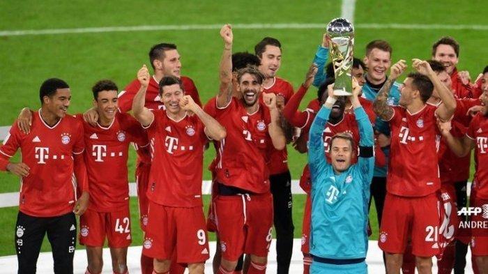 Cuplikan Gol Bayern vs Dortmund Piala Super Jerman, Haaland Dibungkang Seniornya, Lewandowski