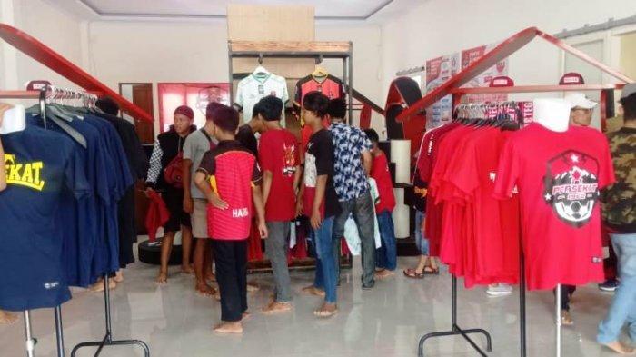 Resmikan Merchandise Store, Hasil Jual Jersey untuk Operasional Tim Persekat Tegal