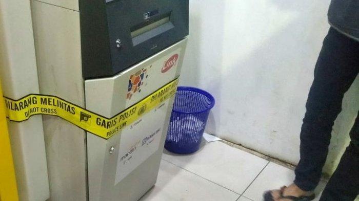 BREAKING NEWS : Pembobol Mesin ATM Bank Mandiri di Banyumanik Ditangkap saat Beraksi
