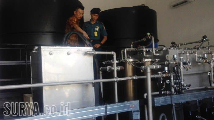 Perusahaan Jepang Ini Bikin Mesin Penghasil BBM Berbahan Baku Air, Dihibahkan ke Koarmatim TNI AL