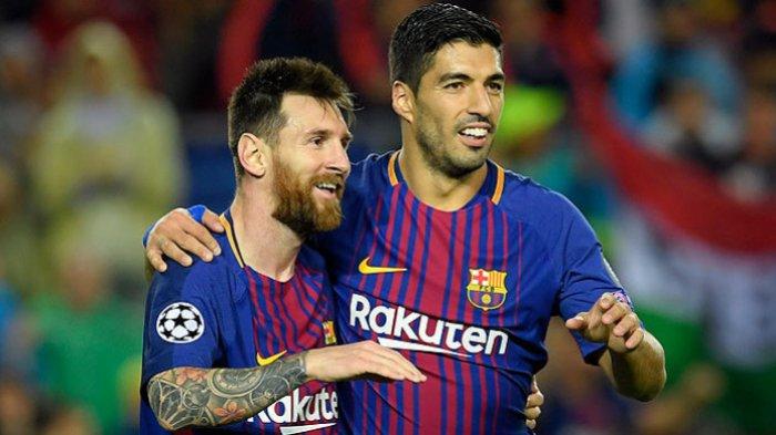 Duet Lionel Messi dan Luis Suarez Miliki Statistik Keren Selama di Barcelona