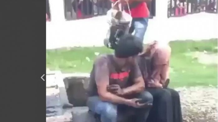 Video Sepasang Kekasih disiram Air Comberan Saat Sedang Berduaan di Rumah Kosong