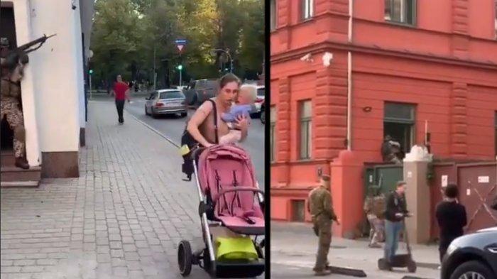 Viral Tentara Latihan Perang-perangan di Pusat Kota, Suaranya Bising & Bikin Panik Warga