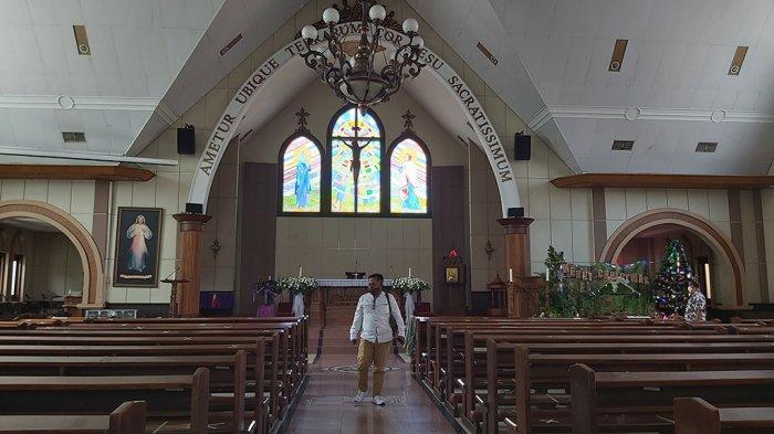 Berikut Link Live Streaming Misa Natal di Gereja Katolik HKY Kota Tegal