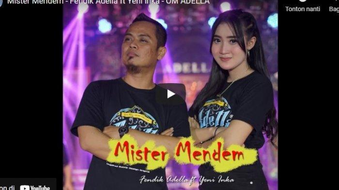 Chord Kunci Gitar Mister MendemFendik Adella ft Yeni Inka